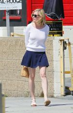 KIRSTEN DUNST Out and About in Los Angeles 05/29/2016