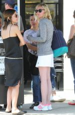 KIRSTEN DUNST Out for Lunch in Los Angeles