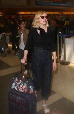 KIRSTEN DUSNT at Los Angeles International Airport 05/08/2016