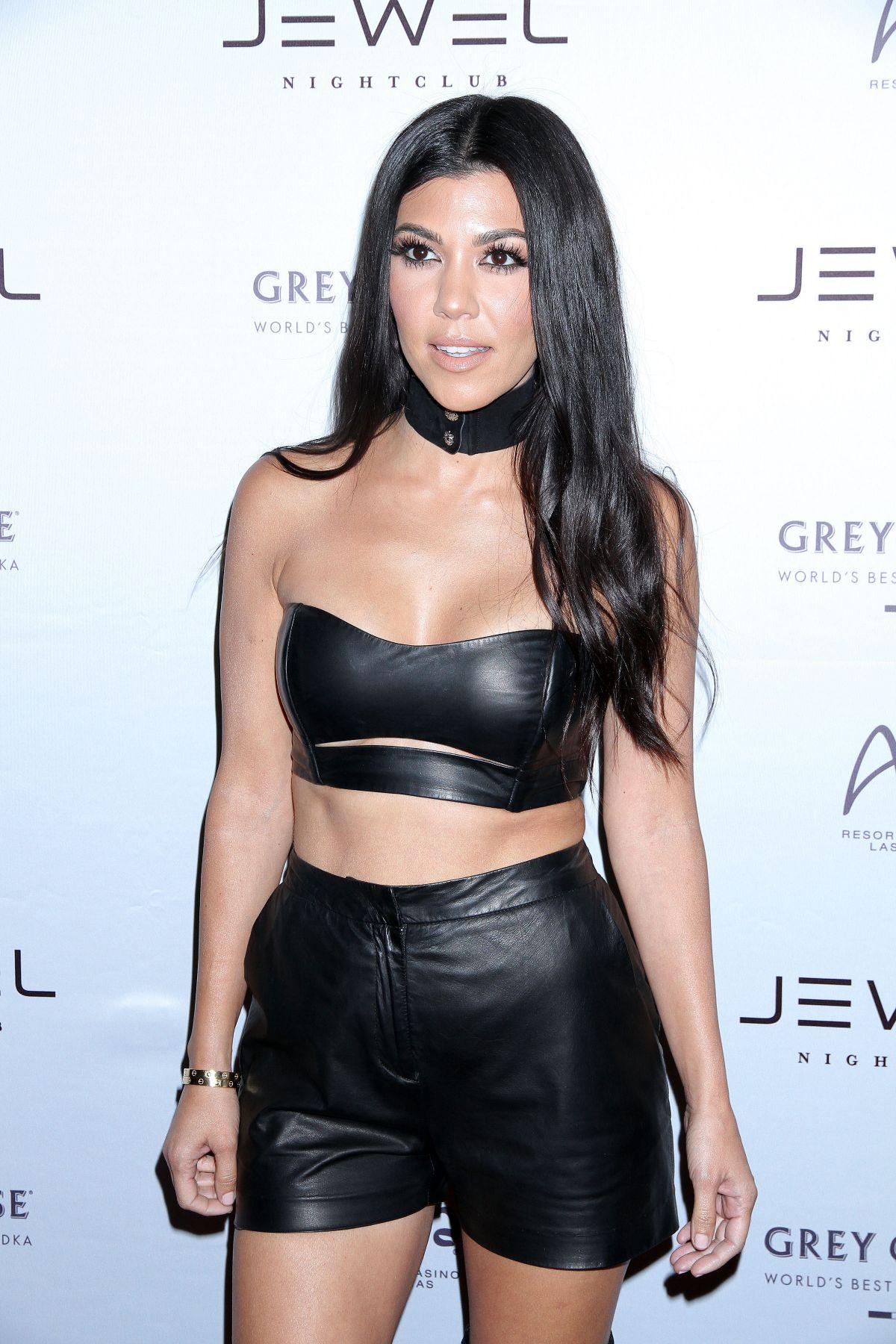 KOURTNEY KARDASHIAN at Jewel Nightclub Grand Opening in Las Vegas 05/22/2016