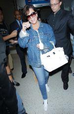 KRIS JENNER at Los Angeles International Airport 05/18/2016