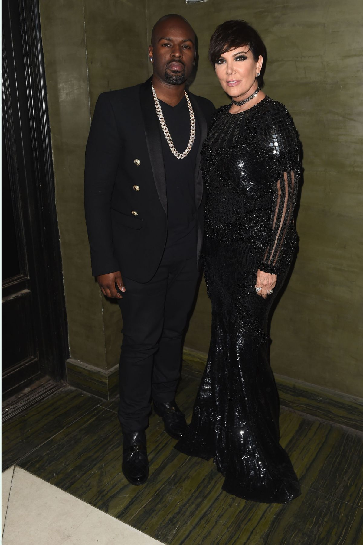 KRIS JENNER at Met Gala After-party in New York 05/02/2016