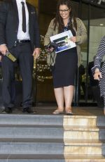 KRIS JENNER Leaves JW Marriott Hotel in Cannes 05/12/2016