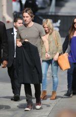 KRISTEN BELL Arrives at Jimmy Kimmel Live in Hollywood 05/18/2016