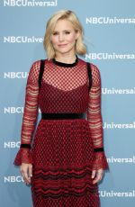 KRISTEN BELL at NBC/Universal Upfront Presentation in New York 05/16/2016