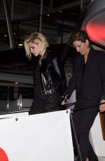KRISTEN STEART Leaves Paul Allen Party in Cannes 05/16/2016