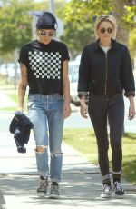 KRISTEN STEWART and ALICIA CARGILE Out and About in Los Angeles 05/21/2016