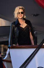 KRISTEN STEWART at a Yacht in Cannes 05/16/2016
