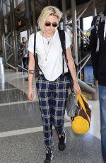 KRISTEN STEWART at LAX Airport in Los Angeles 05/08/2016