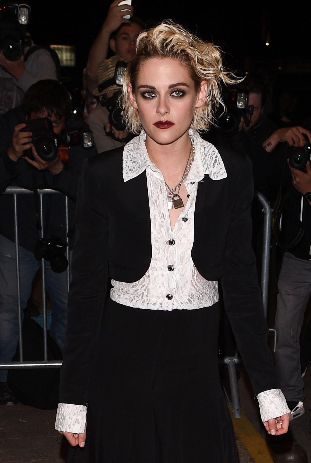KRISTEN STEWART at Vanity Fair Chanel Dinner in Cannes 05/12/2016