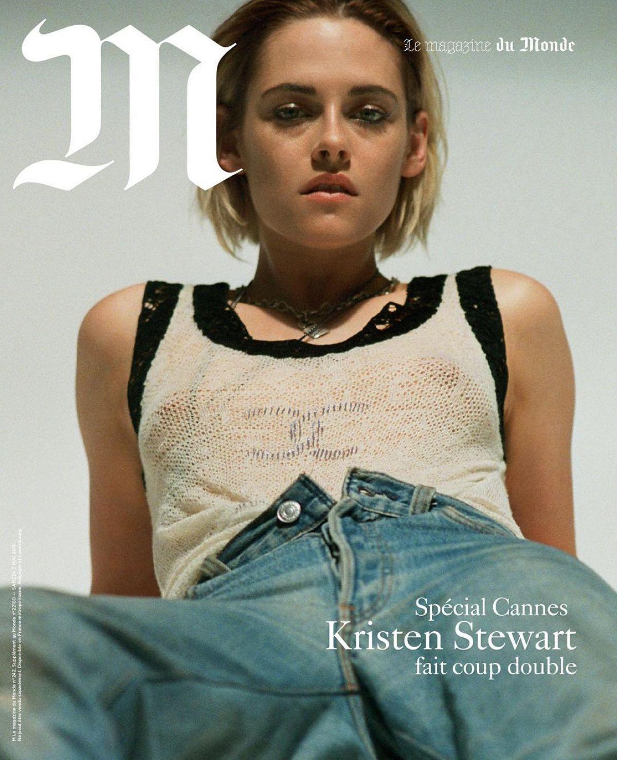 KRISTEN STEWART in M Magazine, Cannes Film Festival 2016 Edition