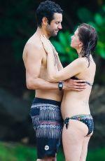 KRISTEN WIIG and Avi Rothman at a Beach in Kauai, 05/05/2016