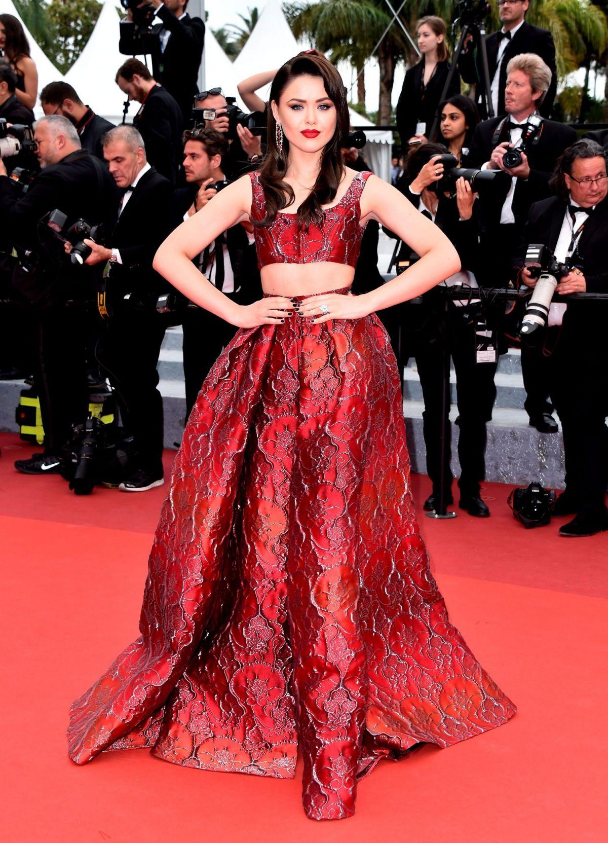 KRISTINA BAZAN at 'Slack Bay' Premiere at 69th Cannes Film Festival 05/43/2016