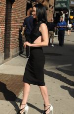 KRYSTEN RITTER Arrives at Late Show with Stephen Colbert in New York 05/20/2016
