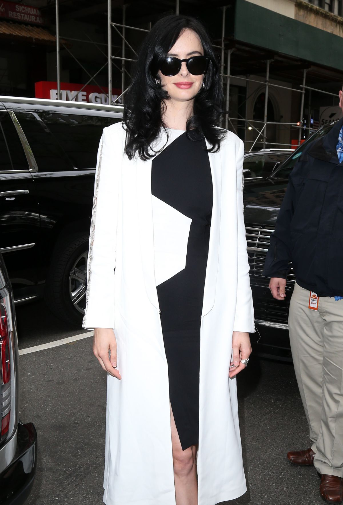 KRYSTEN RITTER Arrives at Today Show in New York 05/18/2016