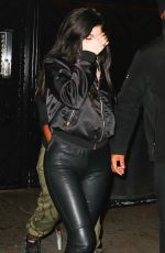 KYIE JENNER Night Out in New York 04/30/2016