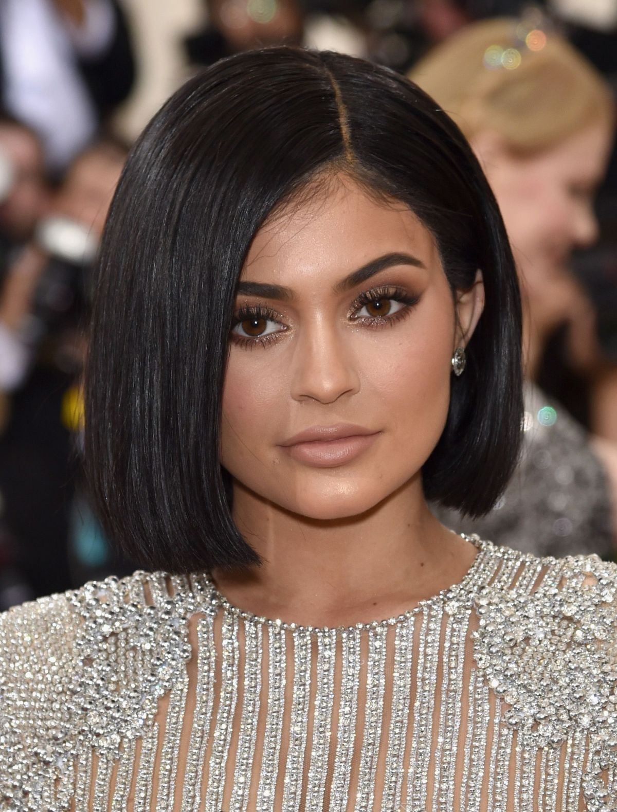 New Kylie Summer Lip Kit Swatches On Dark Skin: KYLIE JENNER At Costume Institute Gala 2016 In New York 05