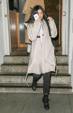 KYLIE JENNER Leaves Nobu Restaurant in New York 05/01/2016