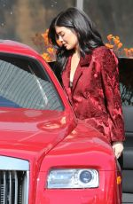 KYLIE JENNER Out and About in Los Angeles 05/11/2016