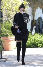 KYLIE JENNER Out for Lunch in Calabasas 05/18/2016