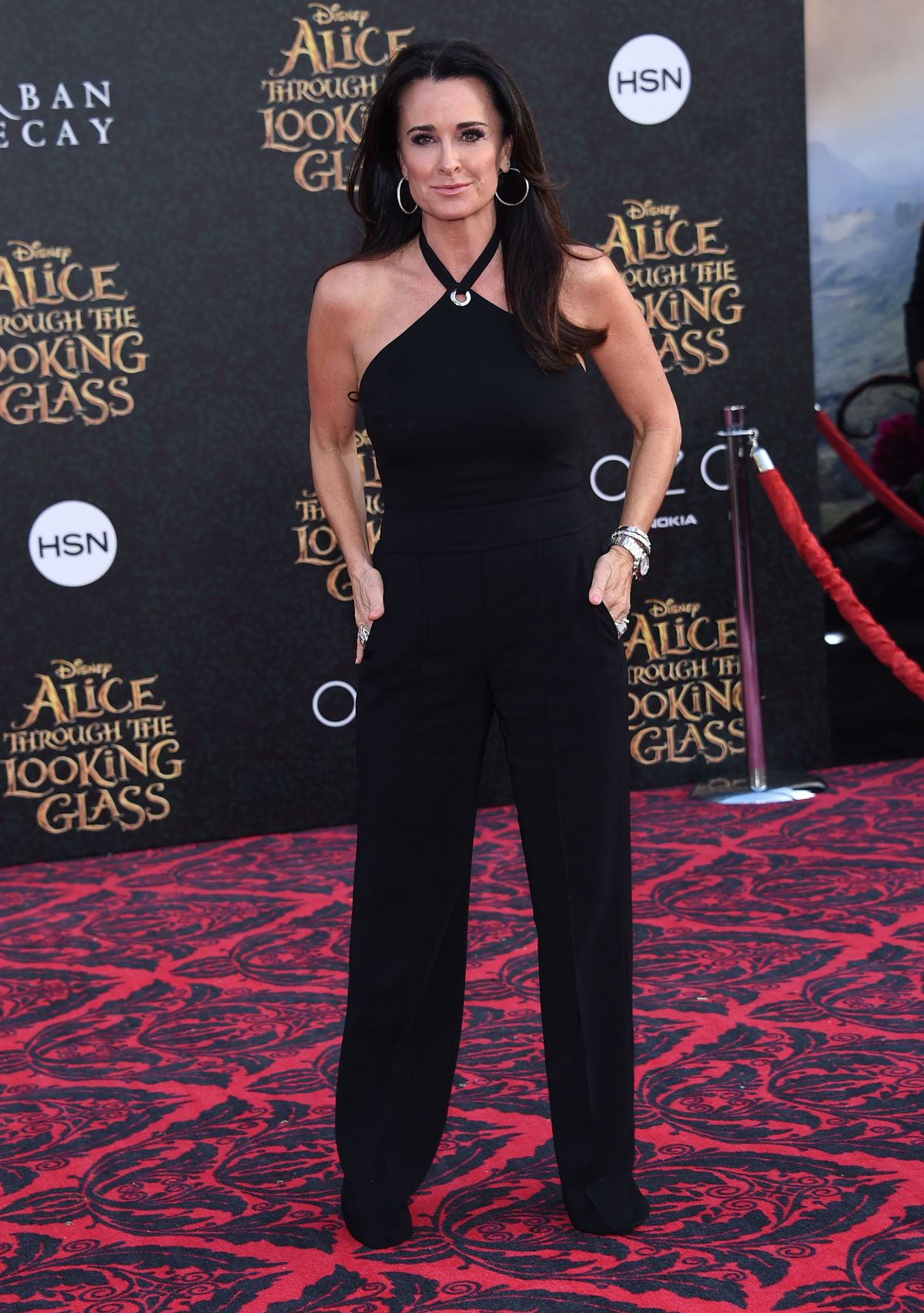 KYLIE RICHARDS at Alice Through the Looking Glass Premiere in Hollywood 05/23/2016