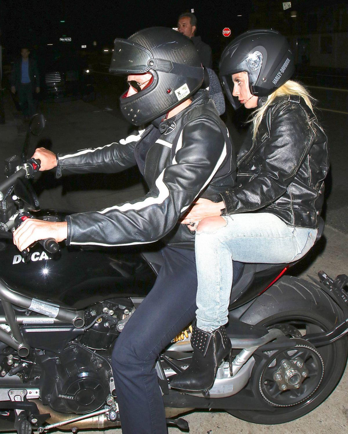LADY GAGA and Bradley Cooper at Giorgio Baldi in Santa Monica 04/29/2016