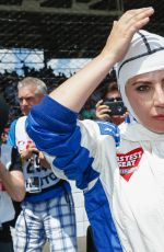 LADY GAGA at 100th Indy 500 at Indianapolis Motor Speedway in Indianapolis 05/29/2016
