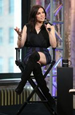 LANA PARRILLA at AOL Build Speakers Series in New York 05/11/2016