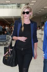 LARA STONE Arrives at Nice Airport 05/17/2016
