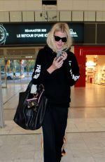 LARA STONE at Nice Airport 05/20/2016