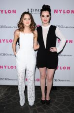 LAURA and VANESSA MARANO at Nylon Young Hollywood Party in West Hollywood 05/12/2016