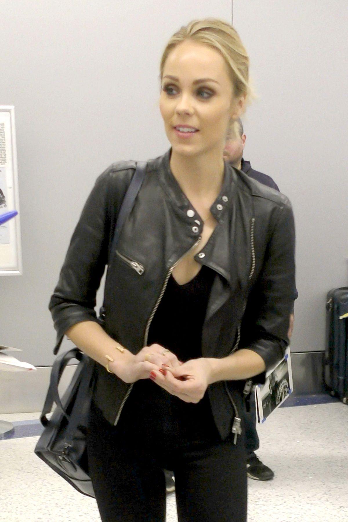 LAURA VANDERVOORT at LAX Airport in Los Angeles 05/29/2016