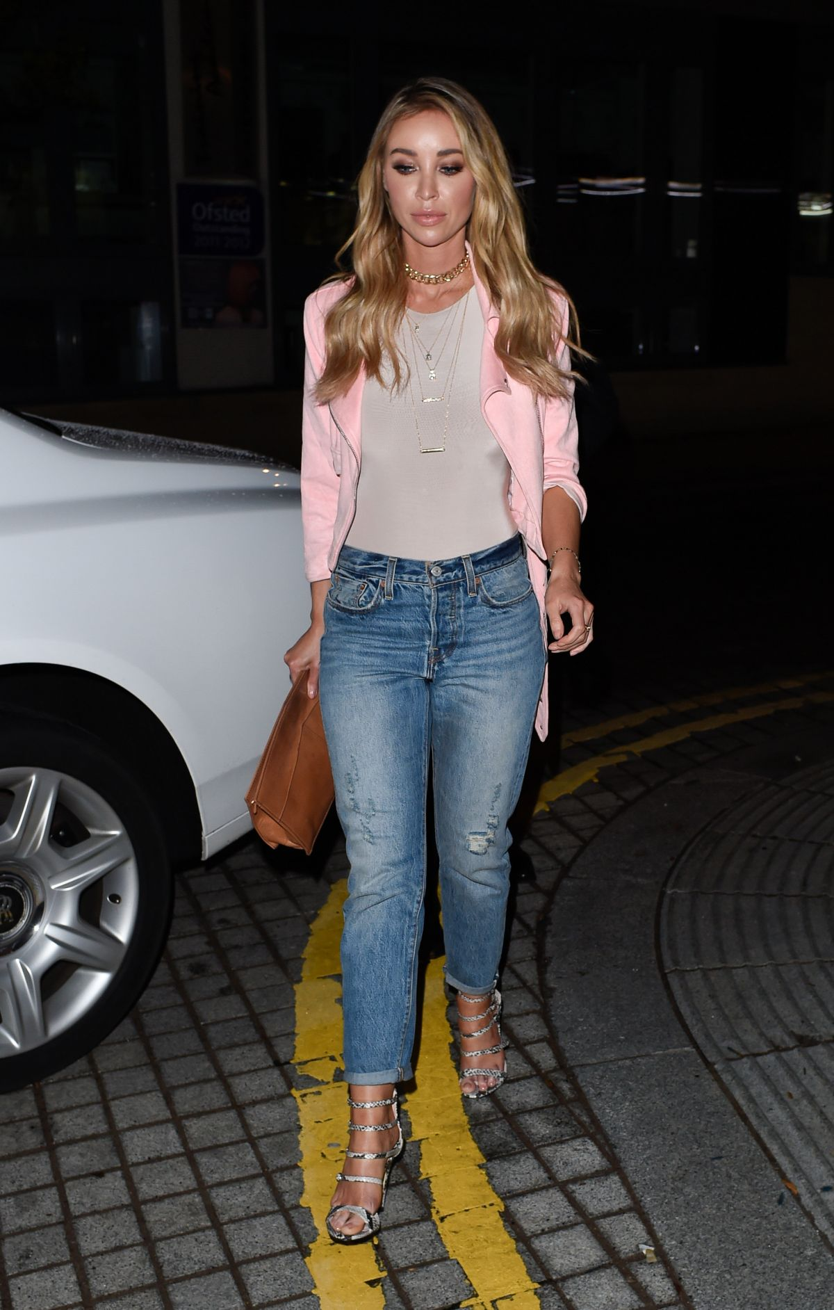 LAUREN POPE at Geisha Nightclub in Birmingham 04/30/2016