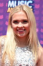 LAUREN TAYLOR at 2016 Radio Disney Music Awards in Los Angeles 04/30/2016