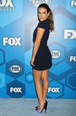 LEA MICHELE at Fox Network 2016 Upfront Presentation in New York 05/16/2016