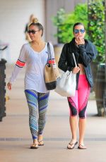 LEA MICHELE Leaves Soul Cycle in Los Angeles 05/11/2016