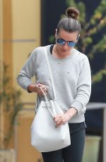 LEA MICHELE Out in Los Angeles 05/07/2016