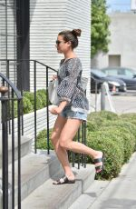 LEA MICHELE Out in West Hollywood 05/03/2016