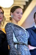 LEA SEYDOUX at 'It's Only the End of the World' Premiere at 69th Annual Cannes Film Festival 05/19/2016