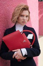 LEA SEYDOUX for Louis Vuitton Travel Campaign 2016