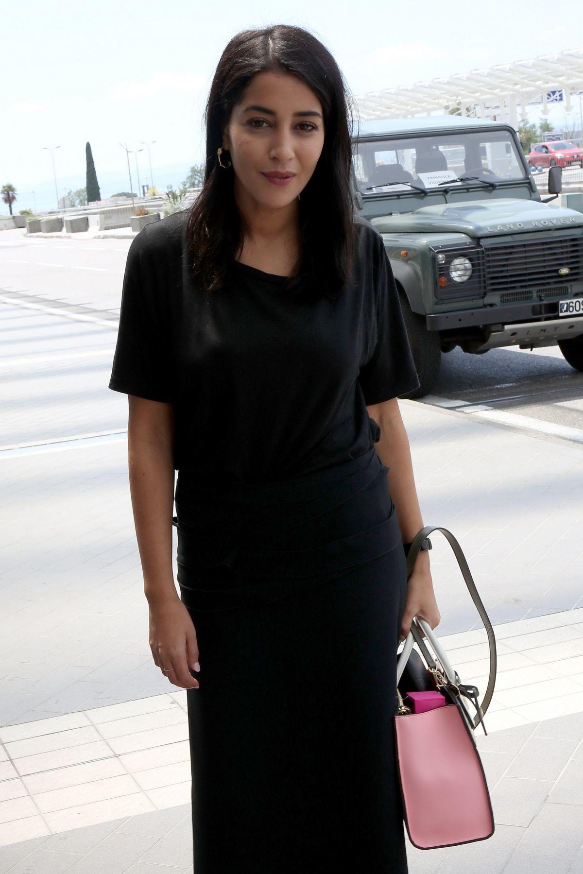 LEILA BEKHTI at Nice Airport 05/14/2016