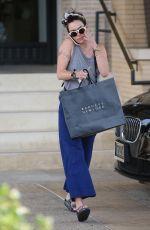 LENA HEADEY Leaves Barney