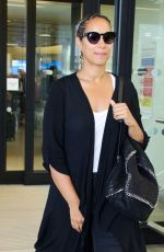 LEONA LEWIS at Heathrow Airport in London 05/27/2016