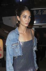 LILY ALDRIDGE Leaves Search and Destroy in New York 05/01/2016