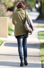 LILY COLLINS Out and About in Los Angeles 05/10/2016