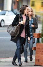 LILY COLLINS Out with Her Mom in Beverly Hills 05/10/2016