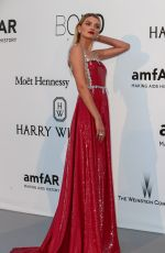 LILY DONALDSON at Amfar's 23rd Cinema Against Aids Gala in Antibes 05/19/2016