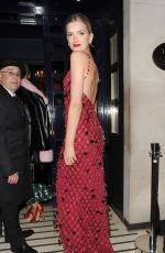 LILY DONALDSON at Vogue 100th Anniversary Gala Dinner in London 05/23/2016