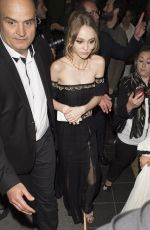 LILY-ROSE DEPP and SOKO Arrives at Casino in Cannes 05/14/2016
