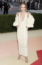 LILY-ROSE DEPP at Costume Institute Gala 2016 in New York 05/02/2016